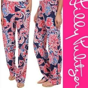 Lilly Pulitzer For The Halibut Palazzo Pants Sz S